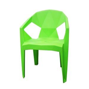 Krēsls plastmasas 54x40x80 zaļš