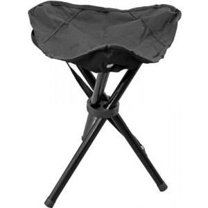 Krēsls kempinga 31x31x39cm melns