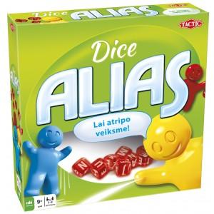 TACTIC Spēle Alias Dice, latviešu val.