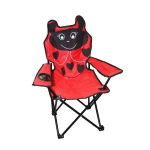 Kempinga krēsls bērniem bizbizmārīte