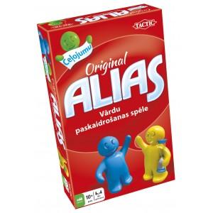 Tactic Spēle Alias Original, ceļojumu versija, latviešu val.