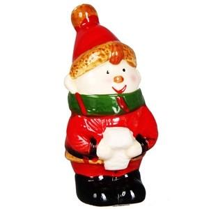 Dekors Ziemassvētku figūra Rūķis 5x4,7x8,6cm