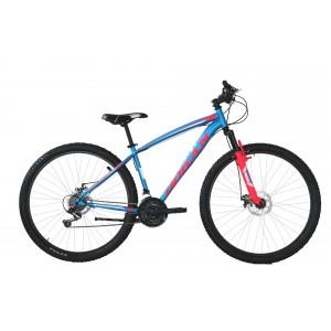 """Hogan MTB kalnu velosipēds 27,5"""" (zils/sarkans)"""