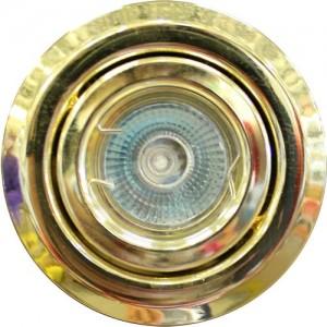 Ieb. lampa halogēna 12V OH19 zelta