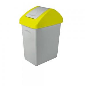 Atkrit.konteiners 25L dzeltens