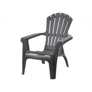 Krēsls plastmasas Dolomati antracīts