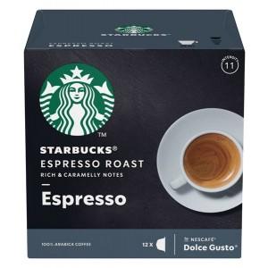 STARBUCKS Dolce Gusto kafija Espresso Roast 66g