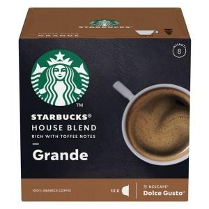 STARBUCKS Dolce Gusto kafija House Blend 102g