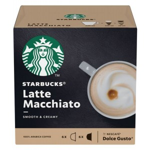 STARBUCKS Dolce Gusto kafija Latte Macchiato 129g