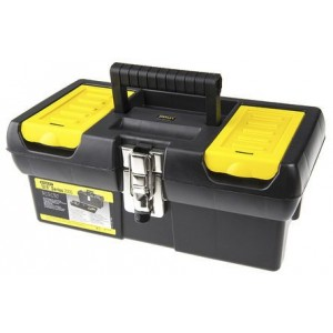 Instrumentu kaste ar metāla stiprinājumiem 12,5