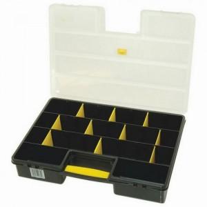 Organaizers plastmasas (vienpusējs 25 nodalījumi)