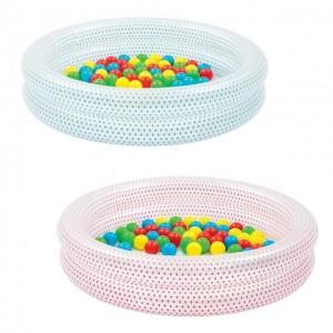 Piepūšams baseins ar bumbiņām, 50gb
