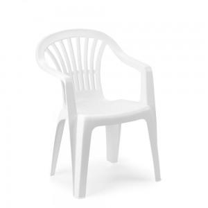 Krēsls plastmasas Altea balts