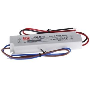 Transf. 12V 1.5A DC 18W IP67