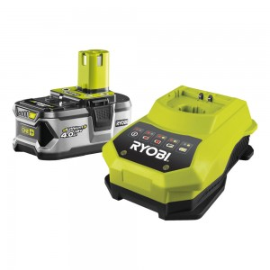 RYOBI Akumulators un lādētājs RBC18L40