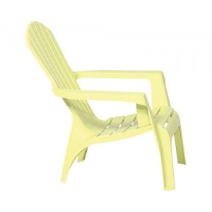 Krēsls plastmasas Dolomati gaiši zaļš