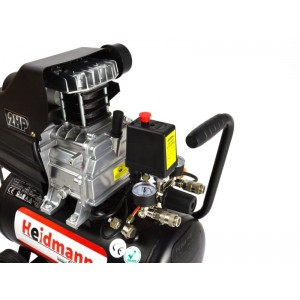 Kompressors 24l 210l/min 8bar Heidmann