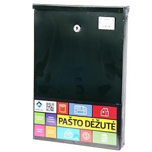 Pastkaste PD955 zaļa