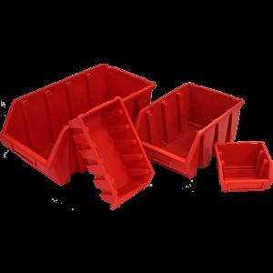 Kaste Ergobox 4 sarkana