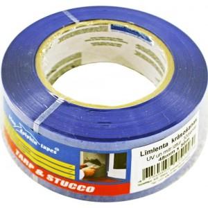 Līmlenta krāsošanas PE 48mm 50m UV un mitruma iztur. 30 dien.