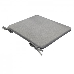 Matracis atpūtas krēslam Simple 38x43x2.5cm pelēks
