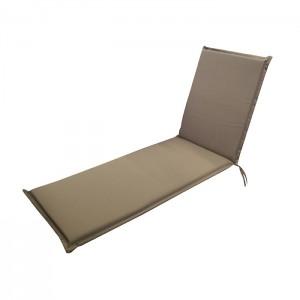 Matracis atpūtas krēslam Summer 55x190x5cm brūns