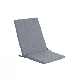Matracis atpūtas krēslam Simple Grey 42x90x3cm pelēks