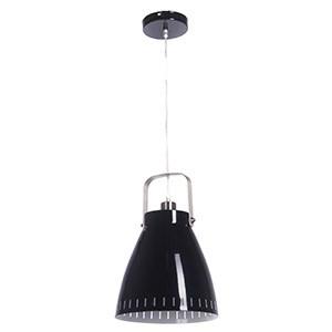 Griestu lampa-STUDY 40W E27 melna