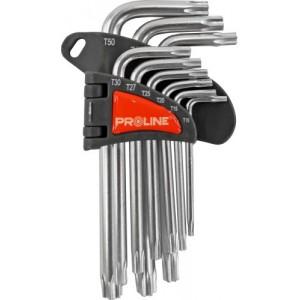 Atslēgu kompl. Torx Proline 9gb T10-T50