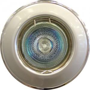 Ieb. lampa halogēna 12V OH114 pelēks/ hromēts