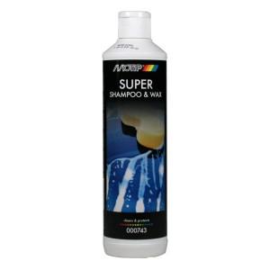 Auto šampūns un vasks 500ml