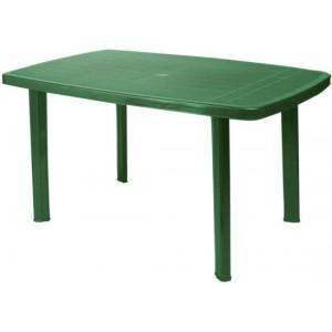 Galds Ovāls 140x90cm zaļš