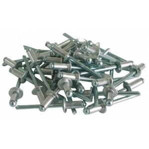 Kniedes alumīnija 4x12.5mm 50 gab