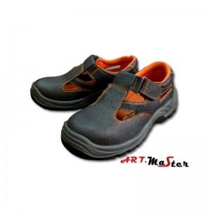 Sandales ar metāla purng. 45.izm