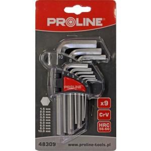 Seškanšu atslēgu kompl. Proline 9gb 1.5-10mm