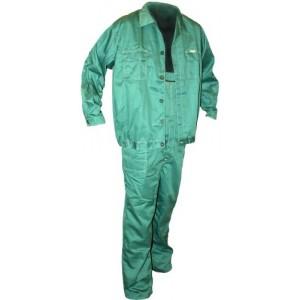 Puskombinzons ar jaku zaļš 170cm