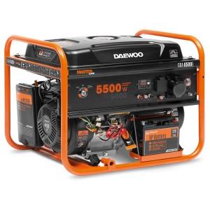 Ģenerators, benzīna DAEWOO GDA 6500E