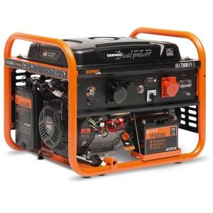 Ģenerators, benzīna DAEWOO DUAL POWER GDA 7500 DPE-3