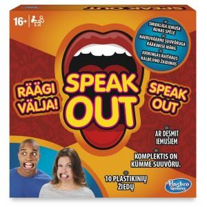 "HASBRO Galda spēle ""Speak Out"""