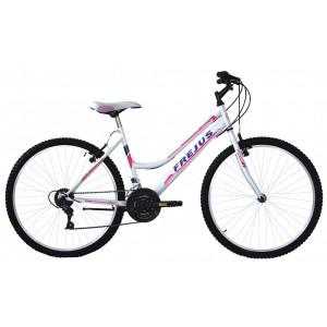 """Frejus MTB kalnu velosipēds 26"""" (balts)"""