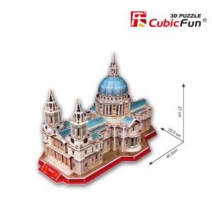 CubicFun 3D puzle Sv. Pāvila katedrāle