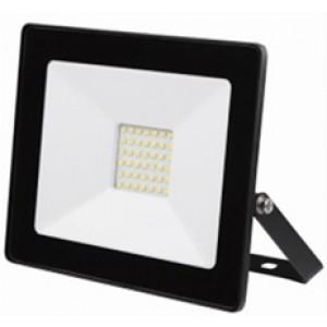 Prožektors LED 10W melns
