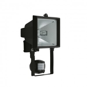 Prožektors 500W 120gr 14m melns/CE-82P-B 13-1034