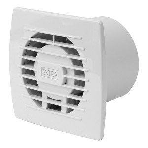 Ventilators EXTRA d100mm ar taimeri