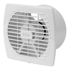 Ventilators EXTRA d150mm ar taimeri