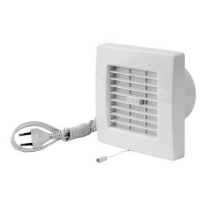 Ventilators EXTRA d100mm ar žalūz., vadu un slēdzi