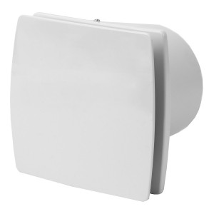 Ventilators EXTRA d100mm ar noslēgv.,taim.,mitr.sens.
