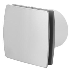 Ventilators EXTRA d100mm ar noslēgv.,inox