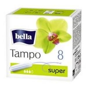 BELLA PREMIUM higiēniskie tamponi SUPER 8gab