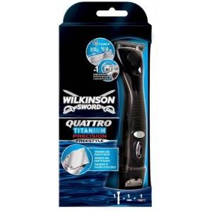 WILKINSON Quattro Titanium Precision skūšanās sistēma